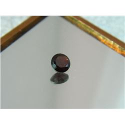 GEMSTONE - GARNET - ROUND FACETED - 5.1 X 2.8mm