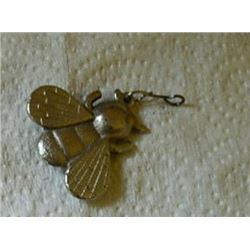 LARGE METAL BUG - BUMBLE BEE - WITH HOOK