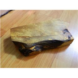 NEW HAND CRAFTED BURL TRINKET BOX WITH LID