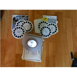 VIEW MASTER LIGHTED VIEWER WITH DISKS