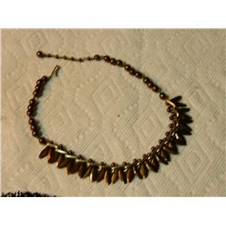"VINTAGE NECKLACE - MARKED - ""M I  WESTERN GERMANY"""