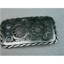 "BELT BUCKLE - 4 ½"" X 2 ½""  - NON FEROUS"