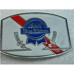 "BELT BUCKLE - PABST BLUE RIBBON - 3 ½""  X 2 ½"""