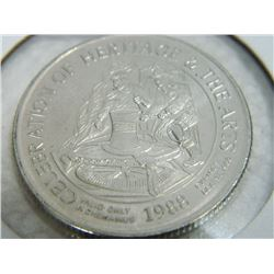 COIN - CELEBRATION OF HERITAGE & THE ARTS - CHEMEINUS BC - 1988