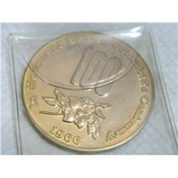 COIN - IN HONOUR OF THE CENTENARY OF CANADIAN CONFEDERATION - 1967