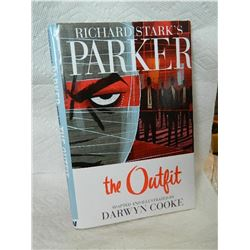 BOOK - HARDCOVER - RICHARD STARK'S PARKER - THE OUTFIT - BOOKS 1,2,3 & 4 - BY DARWIN COOKE - 2010 -