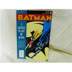 DC COMIC - BATMAN - A LONELY PLACE OF DYING 1990 - FAIR CONDITION