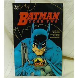 DC COMIC - BATMAN YEAR TWO - 575-578 - 1990 REALLY GOOD CONDITION