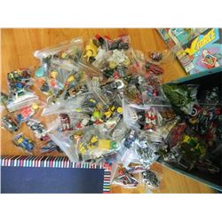 """**FYI -  ACTION FIGURES - TINY = 2"""", MINI =2.5"""" JACK OF ALL TRADES.... though the figures are listed"""
