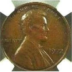 1972 Lincoln Cent NGC MS-62