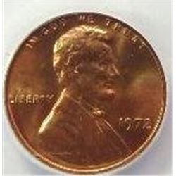 1972 DDO Lincoln Cent