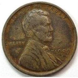 1909 VDB Lincoln Wheat Back Cent