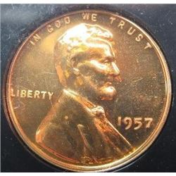1957 Lincoln Wheat Back Cent