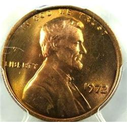 1972 Lincoln Cent PCGS MS-66