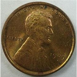 1909 Lincoln Wheat Back Cent