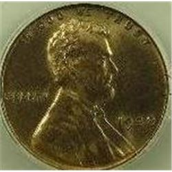 1938 Lincoln Wheat Back Cent