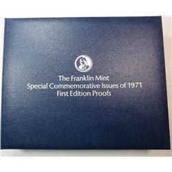 Franklin Mint Special Commemorative Issues 1971 First Edition Sterling Silver