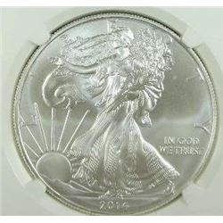 2014-S Silver Eagle NGC MS-70