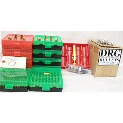 BOX LOT 9MM RELOADING