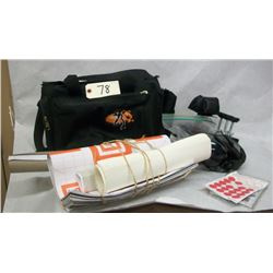 BROWNING TRAP RANGE BAG AND SHOOTING ACCESORIES