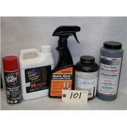 CLEANING SUPPLIES AND SOLVENTS