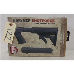 H&R/NEF SHOTFORCE BLACK SYNTH STOCK PACKAGE