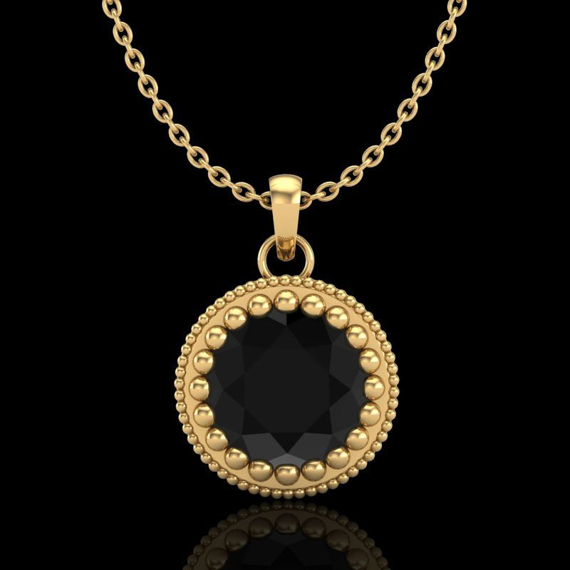 us stud jewelry in pendants necklace gold yellow with circle diamond buy geometric jewellery michaelhill necklaces diamonds com online