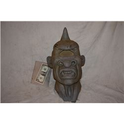 CYCLOPS ALIEN CREATURE MONSTER MASK MASTER BUST