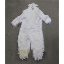 RIP TORN WORN POLAR BEAR COSTUME FOR COSPLAY HALLOWEEN OR MASCOT USE
