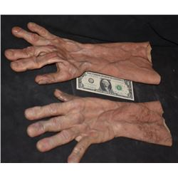 STAR TREK GRIMM ALIEN CREATURE MONSTER DEMON SILICONE ARMS GLOVES 2