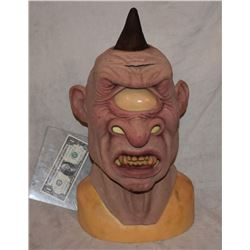 ALIEN CYCLOPS CREATURE FULL HEAD MASK