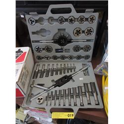 4 Piece Tap & Die Set