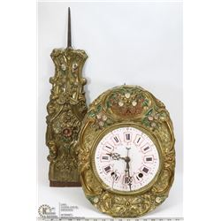 ORNATE 1890'S FRENCH CLOCK