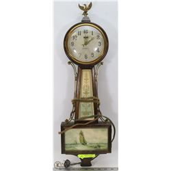 ANTIQUE WORKING NEW HAVEN WESTINGHOUSE WALL CLOCK