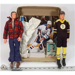 1970'S REGAL BOBBY ORR ACTION FIGURE SET