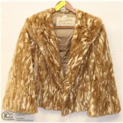 1950'S EATONS FUR COAT LADIES SMALL