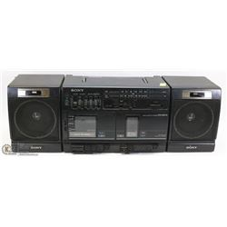 SONY RADIO/CASSETTE PORTABLE STEREO