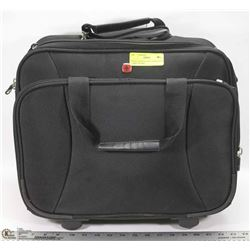 SWISS GEAR ROLLING LAP/BUSINESS CARRY ON BAG