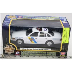 NEW JERSEY POLICE 1:24 MOTOR MAX