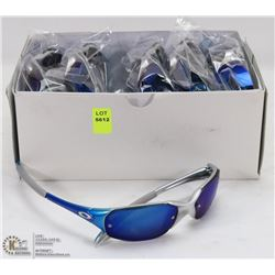 CASE OF OAKLEY REPLICA SUNGLASSES, SILVER WITH