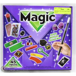 NEW MAGIC SET, INCLUDES OVER 45 TRICKS
