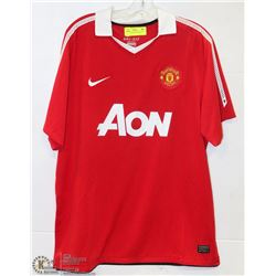 XL MANCHESTER UNITED SOCCER  JERSEY
