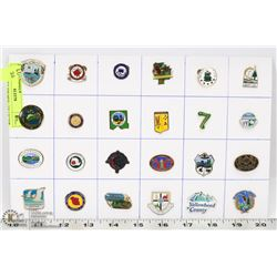 24 COUNTIES ID'S MD'S  COLLECTOR PINS