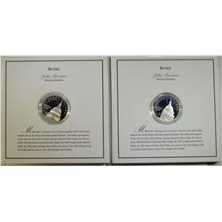 2 SILVER PROOF DOLLARS-1994 US CAPITOL