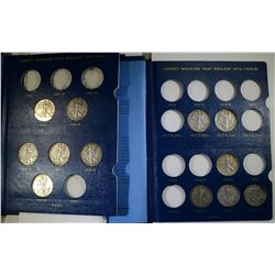 26 DIFFERENT WALKING LIBERTY HALVES IN 2 ALBUMS