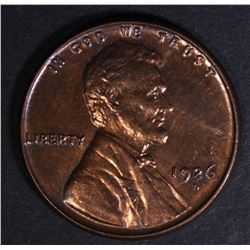 1926-D LINCOLN CENT CH/GEM BU RB