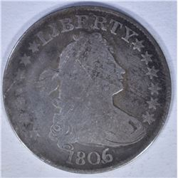 1806 BUST QUARTER GOOD