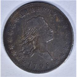 1795 FLOWING HAIR HALF DOLLAR FINE