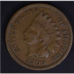 1909-S INDIAN CENT  VF/XF