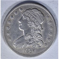 1837 CAPPED BUST QUARTER  AU